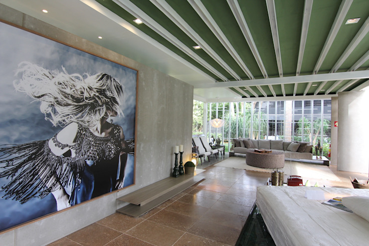 Modern living room by DUPLA ARQUITETURA ESTRATÉGICA Modern