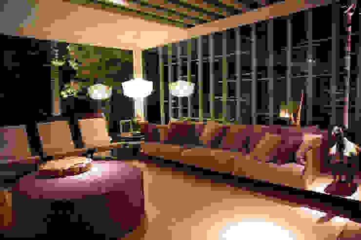 ESTAR A NOITE Salas de estar modernas por DUPLA ARQUITETURA ESTRATÉGICA Moderno