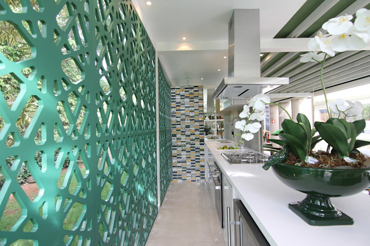 Cozinha americada DUPLA ARQUITETURA ESTRATÉGICA Cozinhas modernas