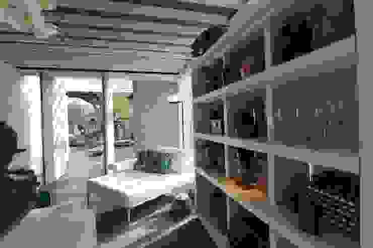 Relaxamento e leitura Varandas, alpendres e terraços modernos por DUPLA ARQUITETURA ESTRATÉGICA Moderno