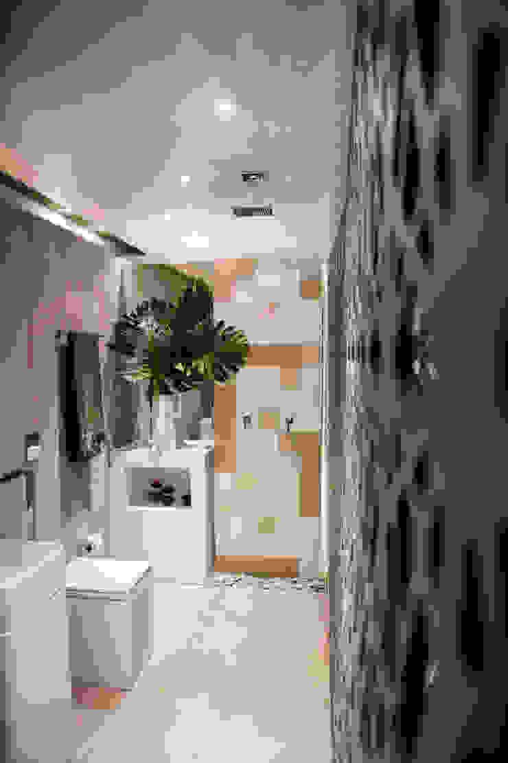 Banheiro a noite Banheiros modernos por DUPLA ARQUITETURA ESTRATÉGICA Moderno