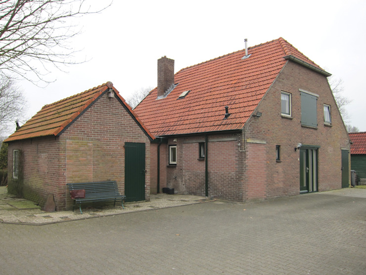 Tibbensteeg Hoonhorst:   door Tim Versteegh Architect,