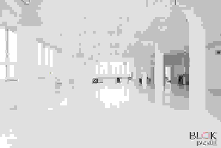Blok projekt Minimalistische Arbeitszimmer