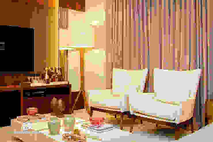 Home - G A por Carolina Fagundes - Arquitetura e Interiores Clássico