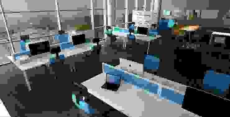Biuro informatyczne od Autorska Pracownia Projektowa Joanna Gostkowska-Białek Nowoczesny