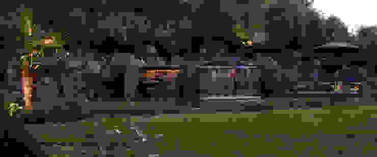 Ogród: styl , w kategorii Ogród zaprojektowany przez Architektura krajobrazu- naturalne systemy uzdatniania wod,Nowoczesny