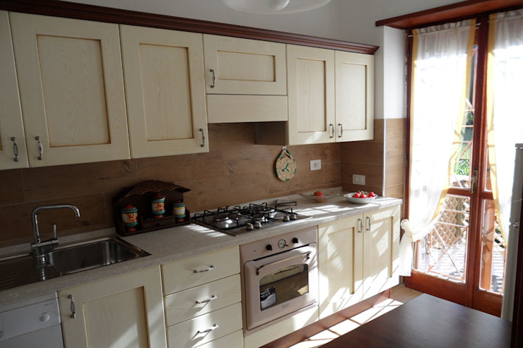 RGROOM Kitchen Wood Beige