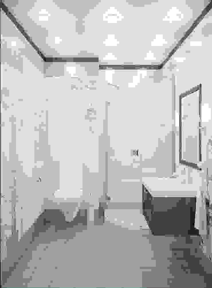 """<q class=""""-first"""">Симфония в синем</q> Ванная комната в эклектичном стиле от Marina Sarkisyan Эклектичный"""