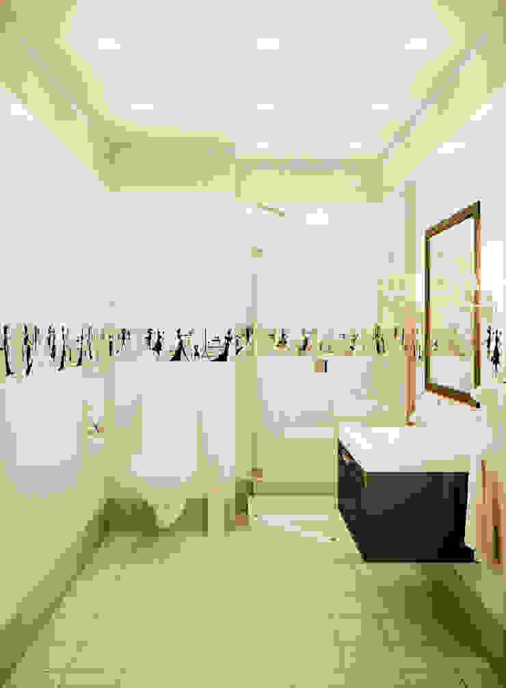 """<q class=""""-first"""">Пробуждение</q> Ванная комната в эклектичном стиле от Marina Sarkisyan Эклектичный"""