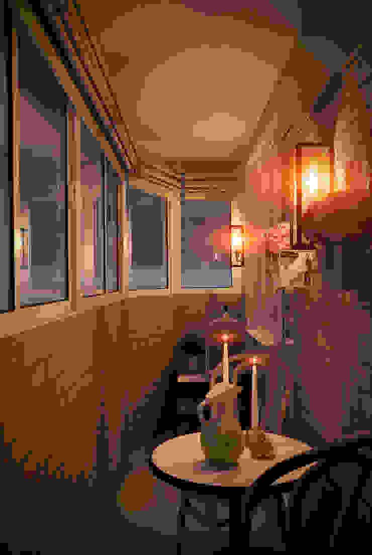 """<q class=""""-first"""">Пробуждение</q> Балконы и веранды в эклектичном стиле от Marina Sarkisyan Эклектичный"""