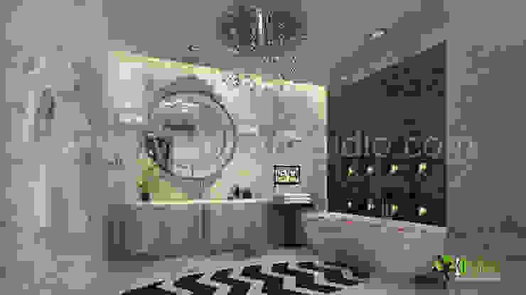 3D Interior Design-Rendering Washroom: modern  by Architectural Design Studio,Modern