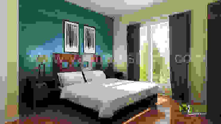 3D Interior Visualisierung und Rendering-Schlafzimmer Modern hotels by Architectural Design Studio Modern