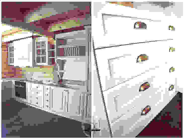 Drewniana kuchnia od EnDecoration Klasyczny