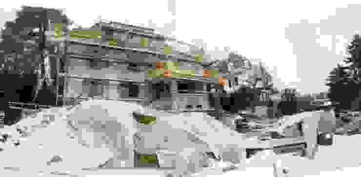 Eclectische tuinen van MASSIMO SEMOLA PROGETTAZIONE GIARDINI MILANO Eclectisch