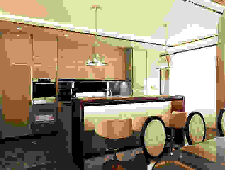 Квартира на Фрунзенской Кухня в классическом стиле от LEO Company Классический