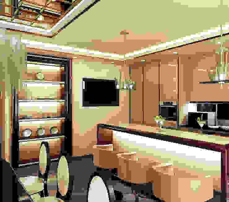 Квартира на Фрунзенской LEO Company Кухня в классическом стиле