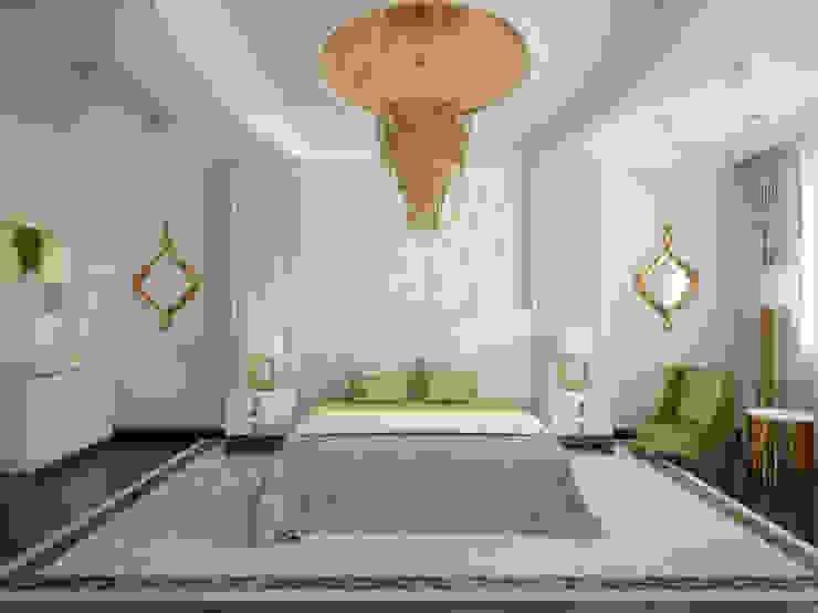 Квартира на Фрунзенской LEO Company Спальня в классическом стиле