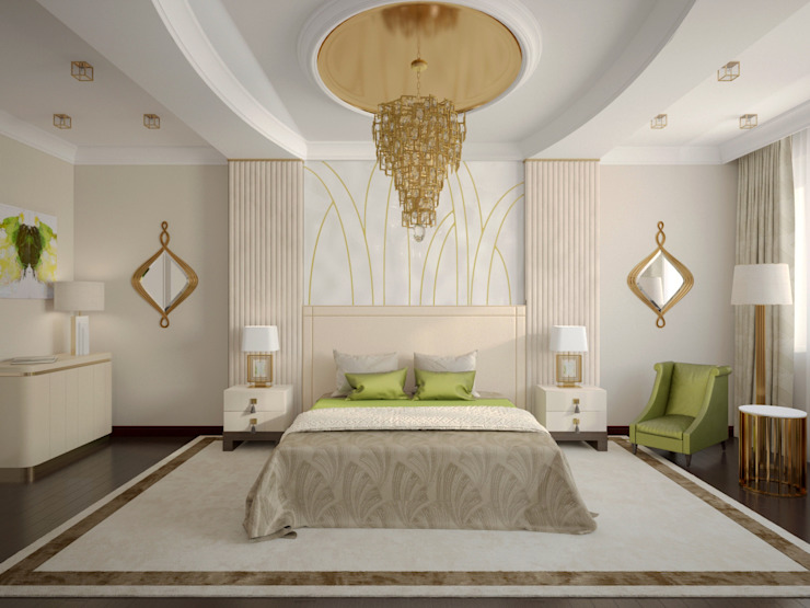Квартира на Фрунзенской Спальня в классическом стиле от LEO Company Классический