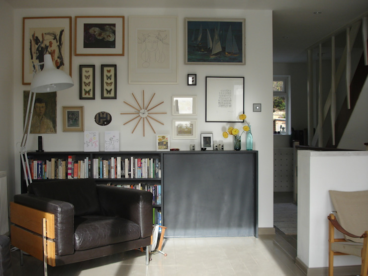 Open Plan 1st floor Living room por Imperfect Interiors Escandinavo