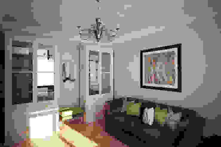 Четырехкомнатная квартира в Москве Рабочий кабинет в классическом стиле от Анастасия Муравьева Классический