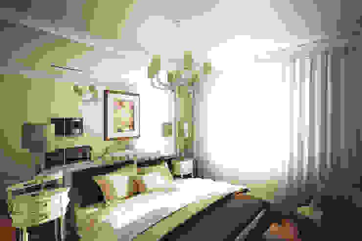 Четырехкомнатная квартира в Москве Спальня в классическом стиле от Анастасия Муравьева Классический
