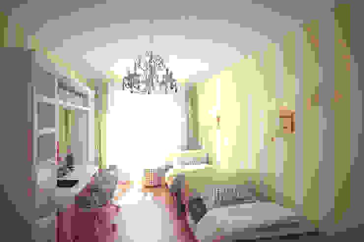 Четырехкомнатная квартира в Москве Детская комнатa в классическом стиле от Анастасия Муравьева Классический