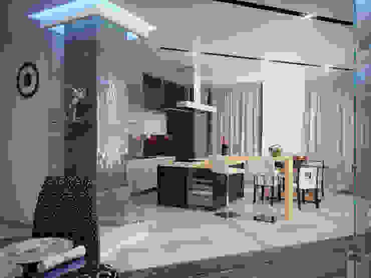 Квартира 200 м.кв в Измайлово Кухня в классическом стиле от LEO Company Классический