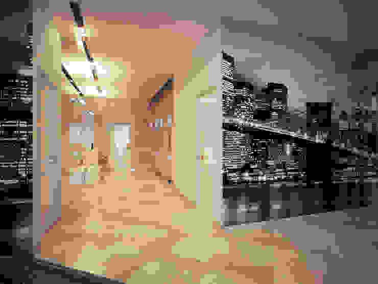 Квартира 200 м.кв в Измайлово Коридор, прихожая и лестница в классическом стиле от LEO Company Классический
