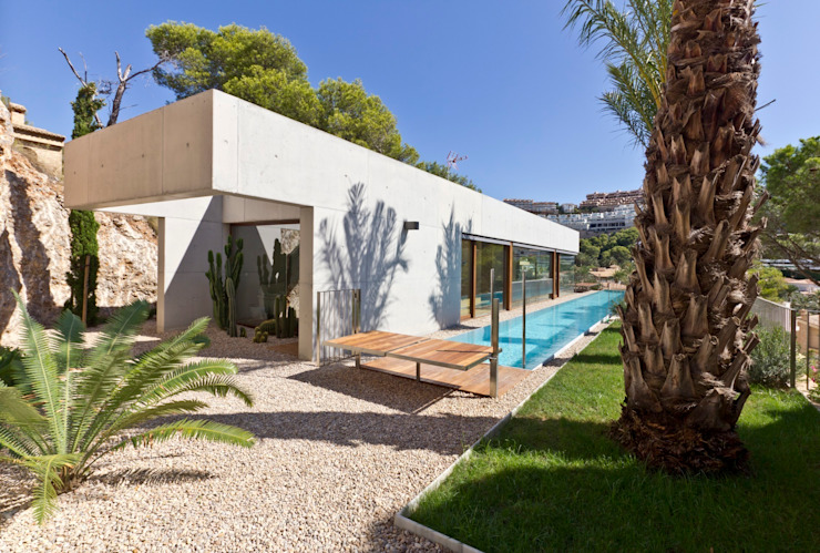 Casas modernas de Ascoz Arquitectura Moderno