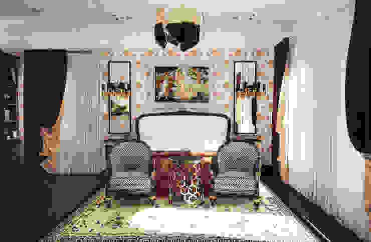 Спальня в классическом стиле Спальня в классическом стиле от Настасья Евглевская Классический