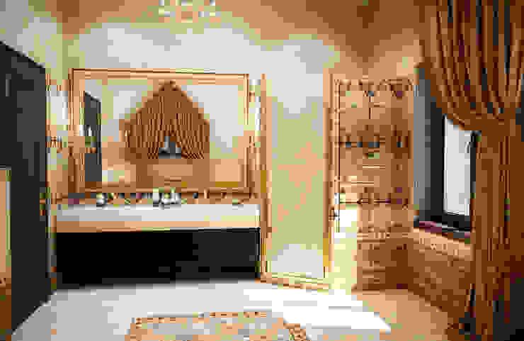 Ванная комната на мансарде Ванная в классическом стиле от Настасья Евглевская Классический