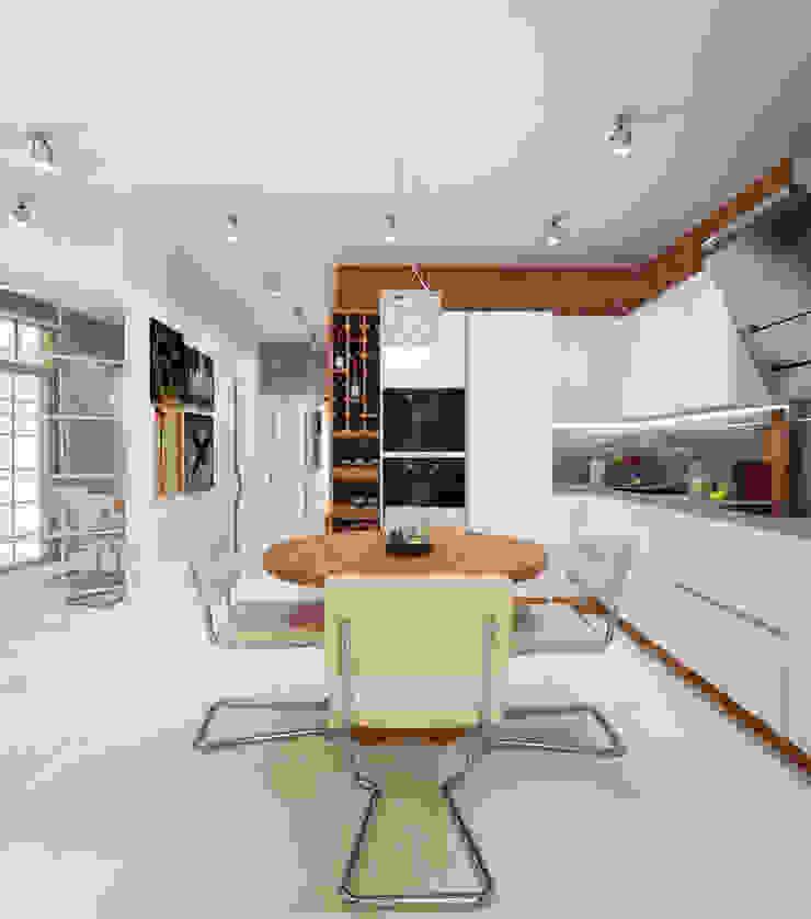 Квартира холостяка в Сочи Кухня в стиле модерн от Настасья Евглевская Модерн