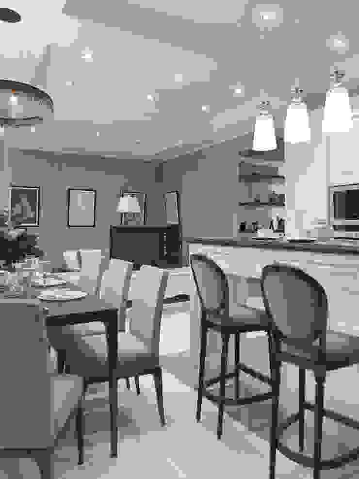 Завтрак у Тиффани Кухня в классическом стиле от GraniStudio Классический