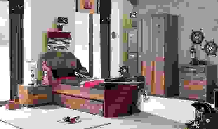 YILDIZ MOBİLYA – Korsan genç odası: modern tarz , Modern
