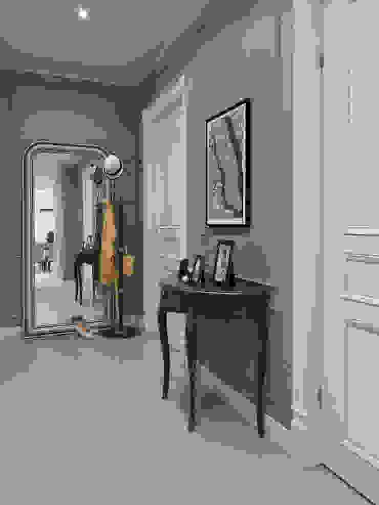 Завтрак у Тиффани Коридор, прихожая и лестница в классическом стиле от GraniStudio Классический