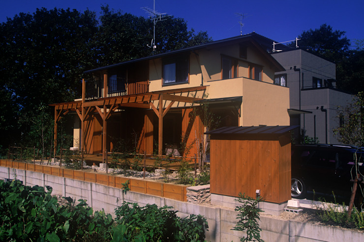 北外山の家 北欧風 家 の 風建築工房 北欧