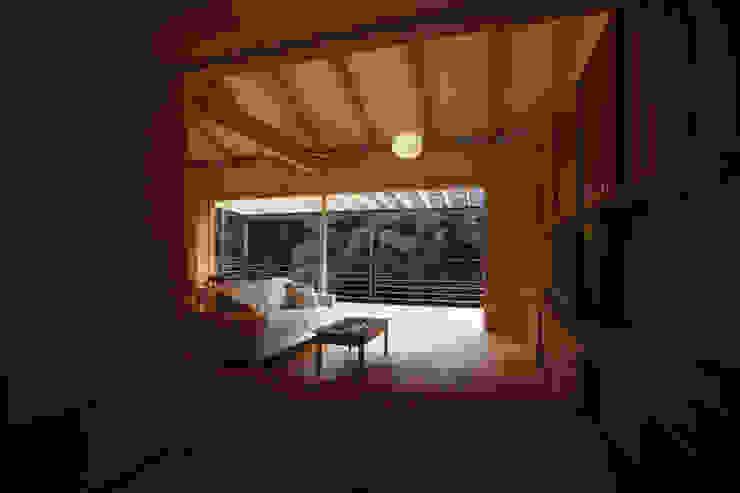 御船の家 モダンデザインの テラス の 風建築工房 モダン