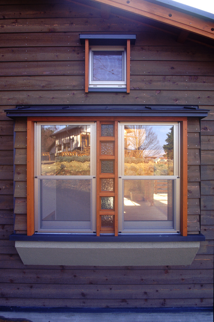 御嵩の家 北欧スタイル 窓&ドア の 風建築工房 北欧