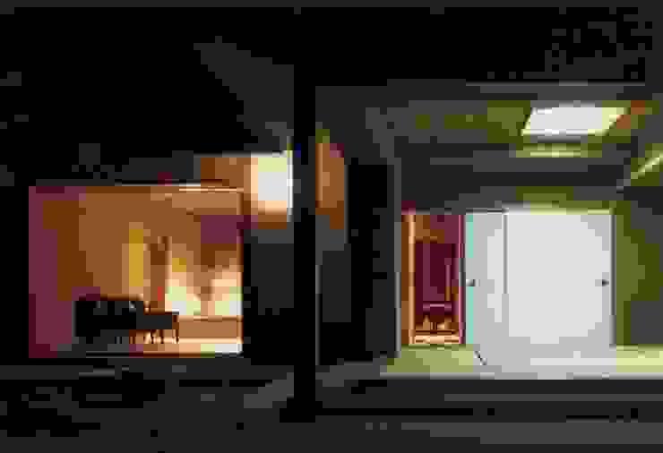 南側の夜景 撮影:村井修 クラシカルな 家 の 小林英治建築研究所 クラシック