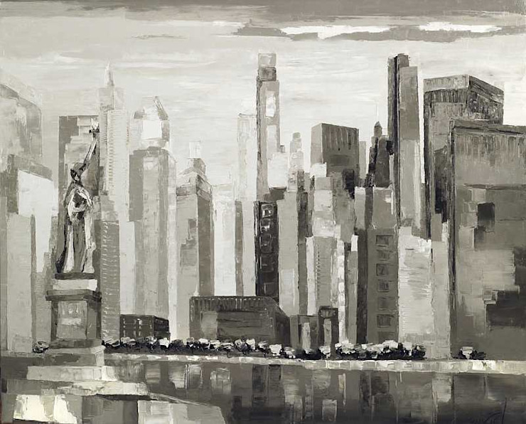 New-York legend par ART CONTEMPORAIN.COM Moderne