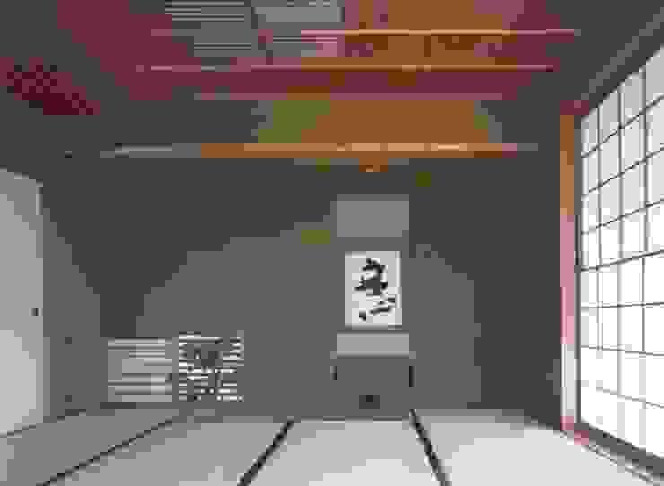寝室 撮影:村井修 クラシカルスタイルの 寝室 の 小林英治建築研究所 クラシック
