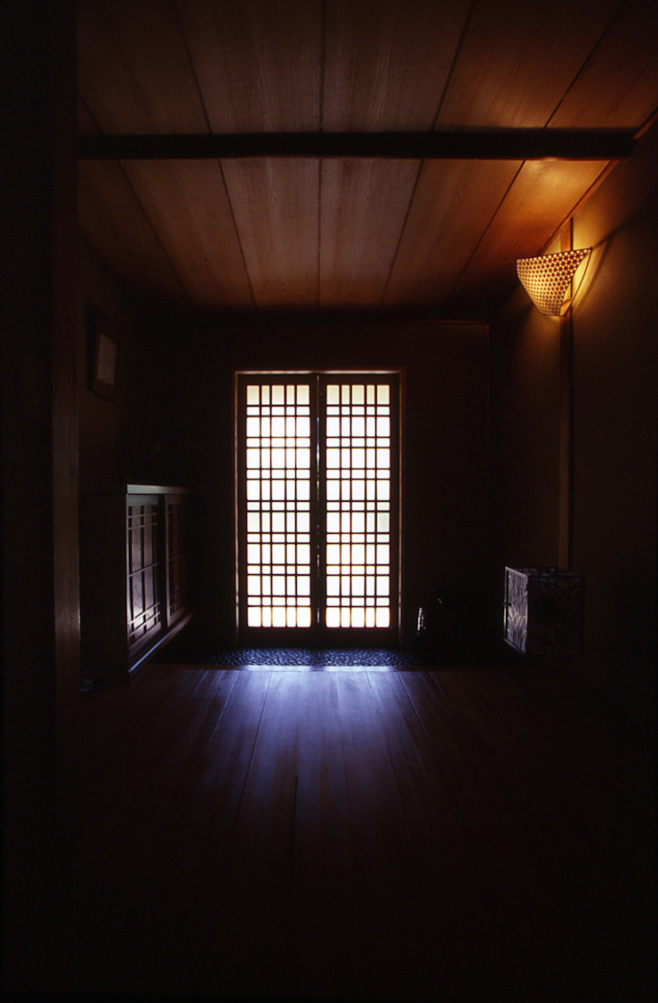 鳥居松の家 モダンな 窓&ドア の 風建築工房 モダン