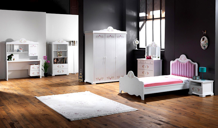 YILDIZ MOBİLYA – Versace genç odası: modern tarz , Modern