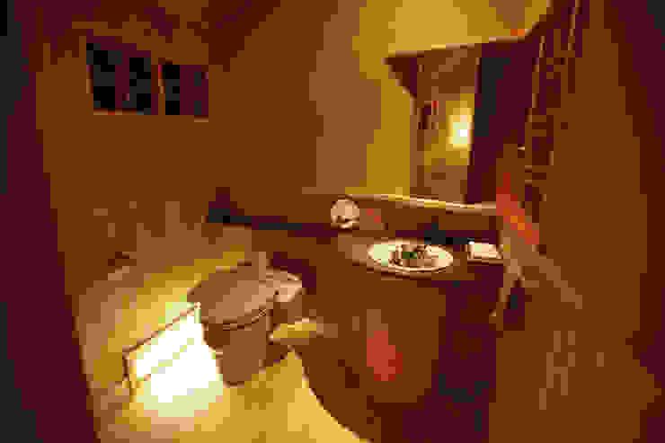 鳥居松の家 モダンスタイルの お風呂 の 風建築工房 モダン