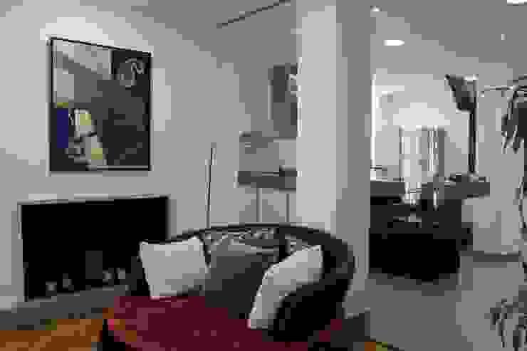 Salon y cocina de CASTSHINE Minimalista