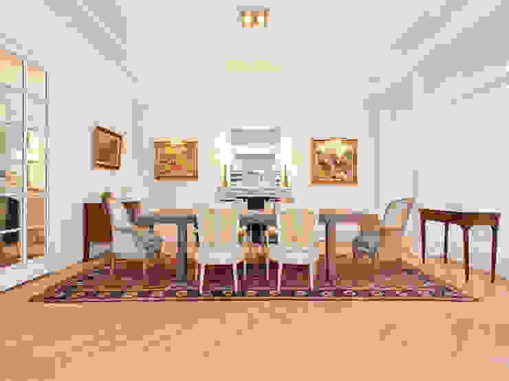 Dining room by Xavier Lemoine Architecture d'Intérieur