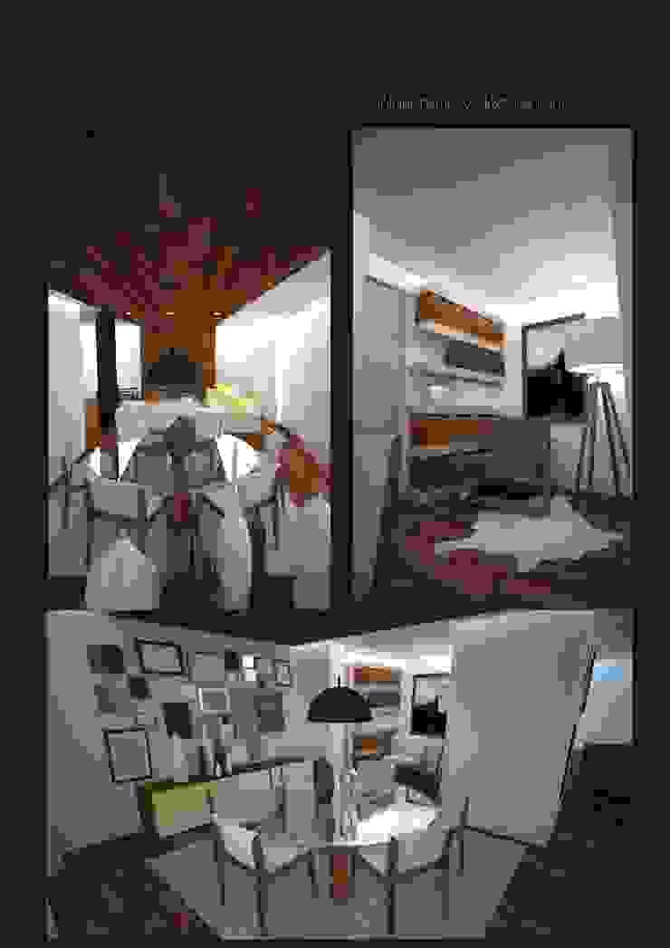Infografia salon de CASTSHINE Minimalista