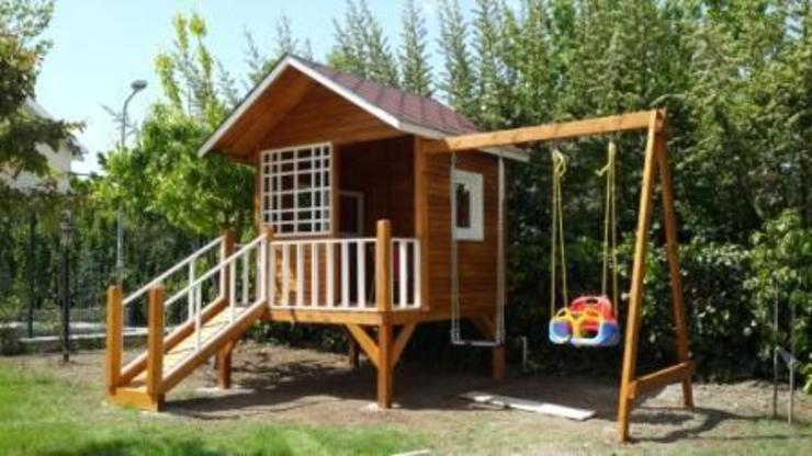 şirin home ahşap ev Garden Swings & play sets