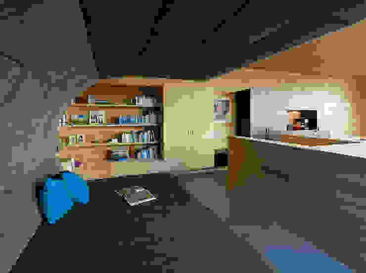 Nowoczesny salon od HAMMERER Architekten GmbH/SIA Nowoczesny