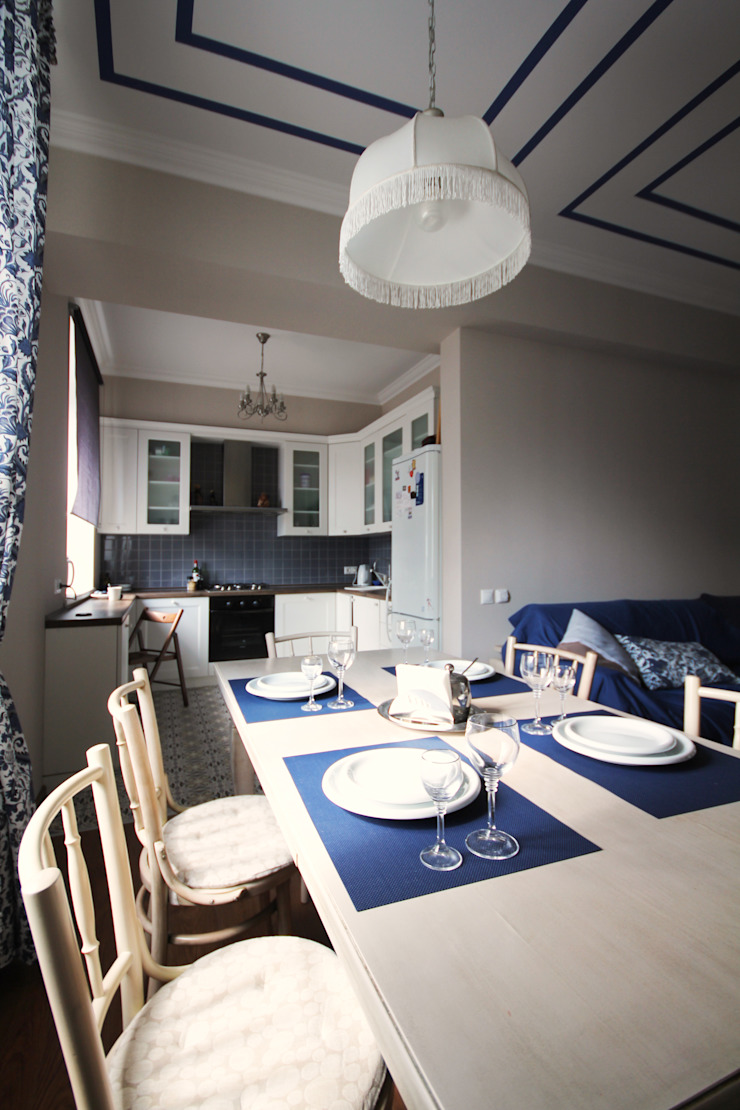 Blue Гостиная в классическом стиле от ASH Классический